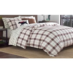 Eddie Bauer Riverdale Plaid Flannel Comforter Set