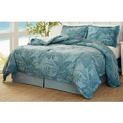 Tommy Bahama Abalone Blue Comforter Set