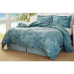 Abalone Blue Comforter Set