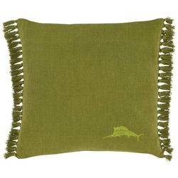 Tommy Bahama Island Essentials Green Decorative Pillow