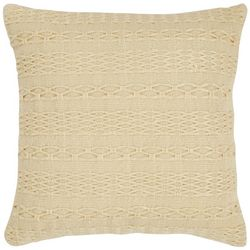 Tommy Bahama Island Essentials Beige Decorative Pillow