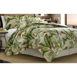 Tommy Bahama Palmeiers Green 3-pc. Duvet Cover Set