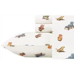2-pc. Beach Chairs Pillowcase Set