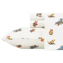 2-pc. Beach Chairs Pillowcase Set