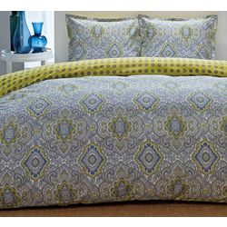 City Scene Milan Full/Queen Duvet Set