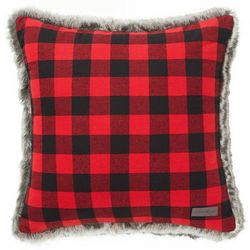 Eddie Bauer Cabin Plaid Throw Pillow