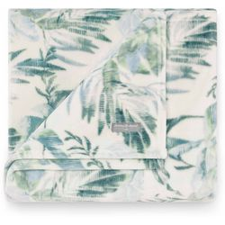 Wallpaper Leaves Throw Blanket