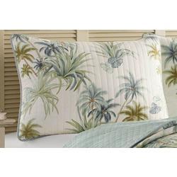 Serenity Palms Pillow Sham