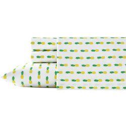 Poppy & Fritz Pineapple Print Sheet Set