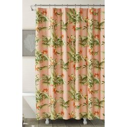 Tommy Bahama Siesta Key Bright Pink Shower Curtain