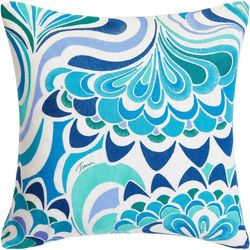 Trina Turk Avalon Lotus Throw Pillow