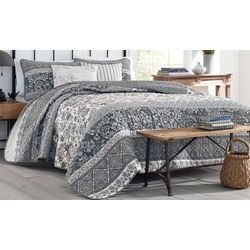 Stone Cottage Abbey Grey Quilt Set