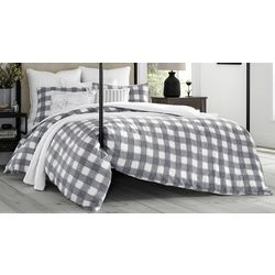 Stone Cottage Braxton Plaid Duvet Cover Set
