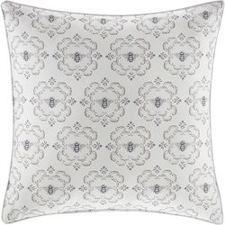 Stone Cottage Bee Medallion Natural Throw Pillow