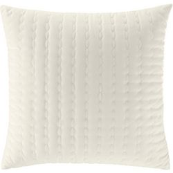 Stone Cottage Solid Beige Throw Pillow