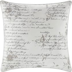 Stone Cottage Script Square Throw Pillow