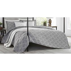 Stone Cottage Laurel Grey Quilt Set