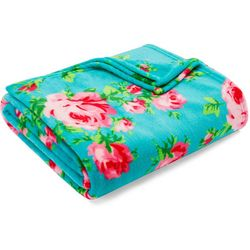 Betsey Johnson Bouquet Ultra Soft Plush Throw