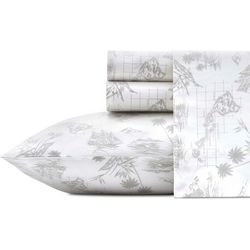 Tommy Bahama Vintage Map Sheet Set