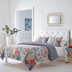 Mirage Paisley Duvet Cover Set