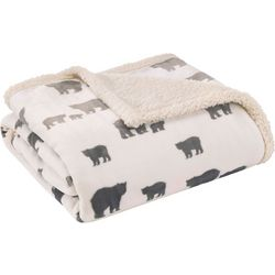 Eddie Bauer Bear Village Throw Blanket