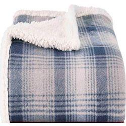 Eddie Bauer Nordic Plaid Throw Blanket