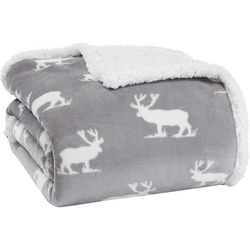 Eddie Bauer Elk Stance Throw Blanket