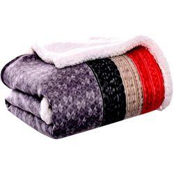 Eddie Bauer Fair Isle Throw Blanket