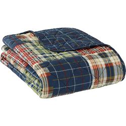 Eddie Bauer Madrona Plaid Throw Blanket