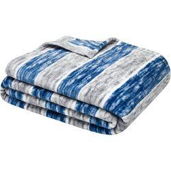 Nautica Perfect Stripe Throw Blanket