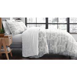 City Scene Aria Grey Comforter Set