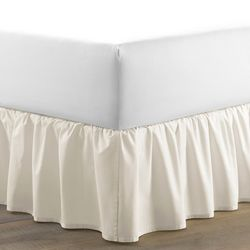 Laura Ashley Solid Ruffle Bed Skirt