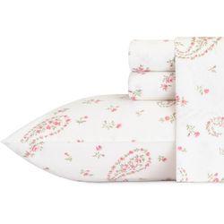 Laura Ashley Bristol Paisley Flannel Sheet Set