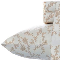 Laura Ashley Victoria Flannel Sheet Set