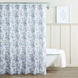 Laura Ashley Annalise Floral Shower Curtain
