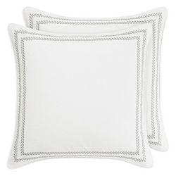 Laura Ashley Vine Leaf Stitch European Sham
