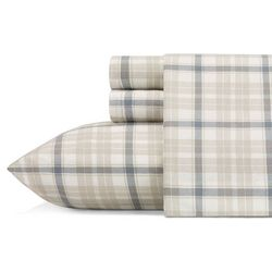 Eddie Bauer Westfall Plaid Flannel Sheet Set