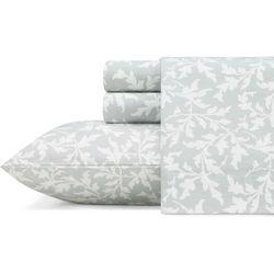 Laura Ashley Crestwood Flannel Sheet Set