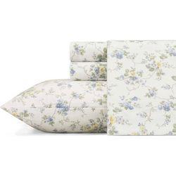 Laura Ashley Le Fleur Flannel Sheet Set