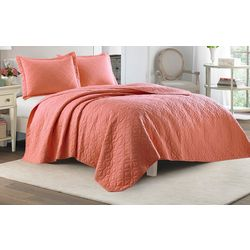Laura Ashley Solid Quilt Set