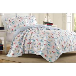 Laura Ashley Ahoy Quilt Set