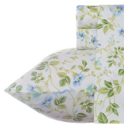 Laura Ashley Spring Bloom Periwinkle Sheet Set