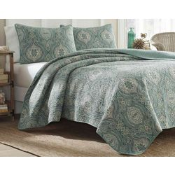 Tommy Bahama Turtle Cove Quilt Set