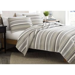 Stone Cottage Fresno Neutral 3-pc. King Quilt Set