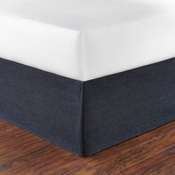 Poppy & Fritz Denim Bed Skirt