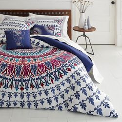 Hanna Medallion Duvet Cover Set