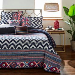 Azalea Skye Kilim Stripe Duvet Cover Set