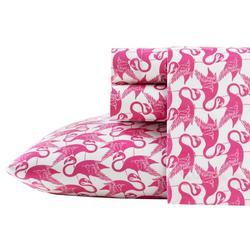 Flamingo Print Sheet Set