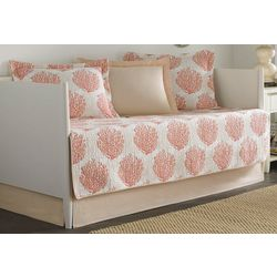 Laura Ashley Coral Coast 5-pc. Daybed Quilt Set