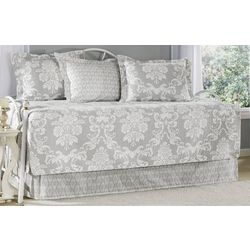 Laura Ashley Venetia Grey 5-pc. Daybed Quilt Set